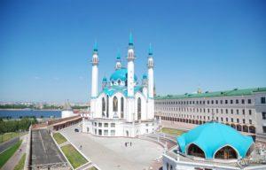 Казанский Кремль - комплекс мечети Кул Шариф